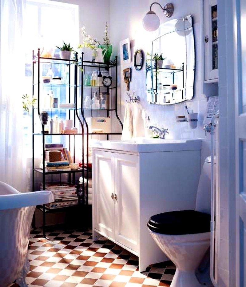 Дизайн ванной комнаты из икеа