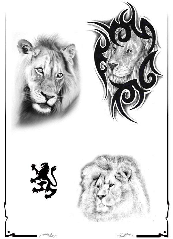 Тату льва на плече рисунки