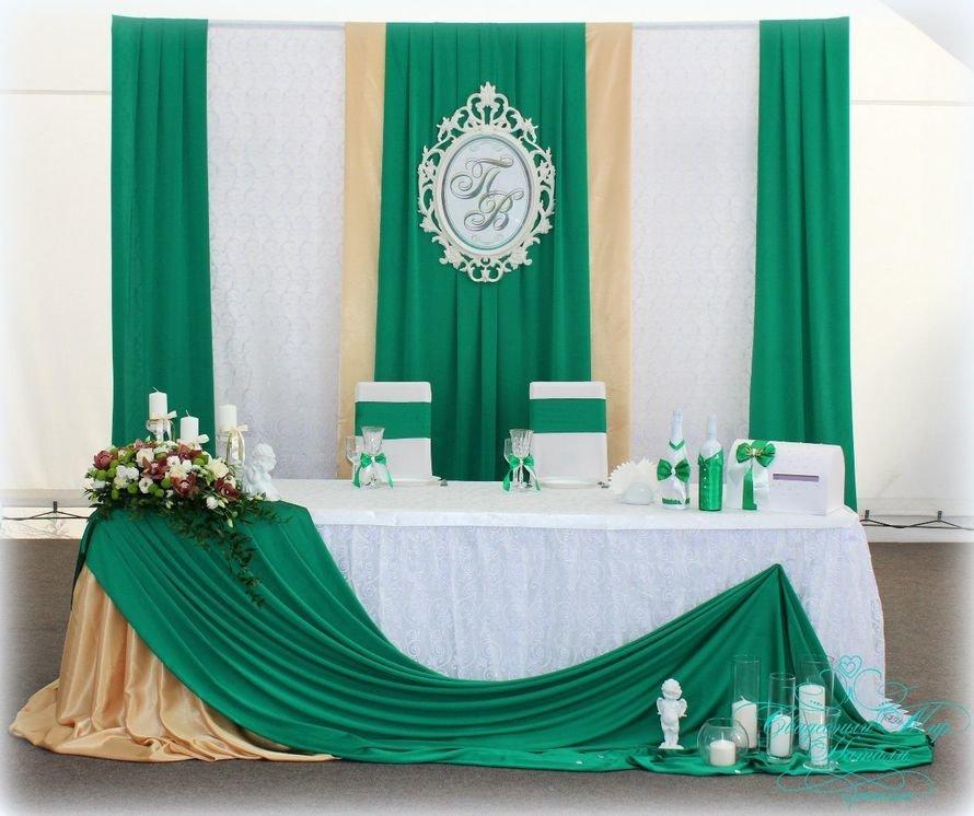 Оформление за на изумрудную свадьбу