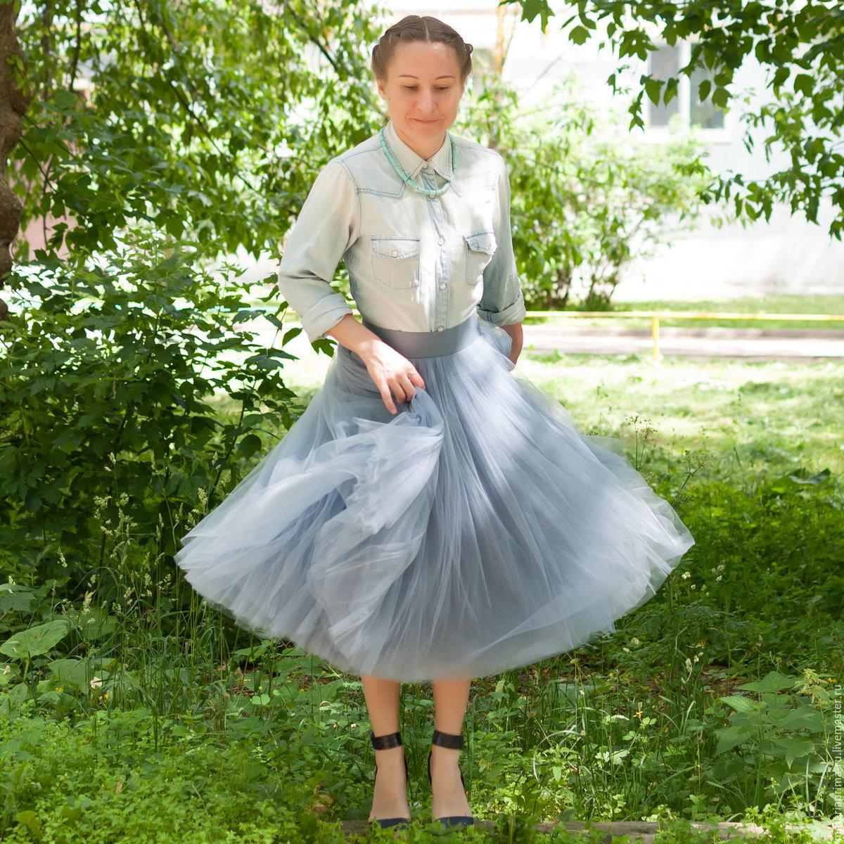 Платье из тюля своими руками фото 65