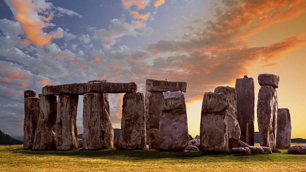 Famous Rock Group, Stonehenge, Wiltshire, England  № 715581 загрузить