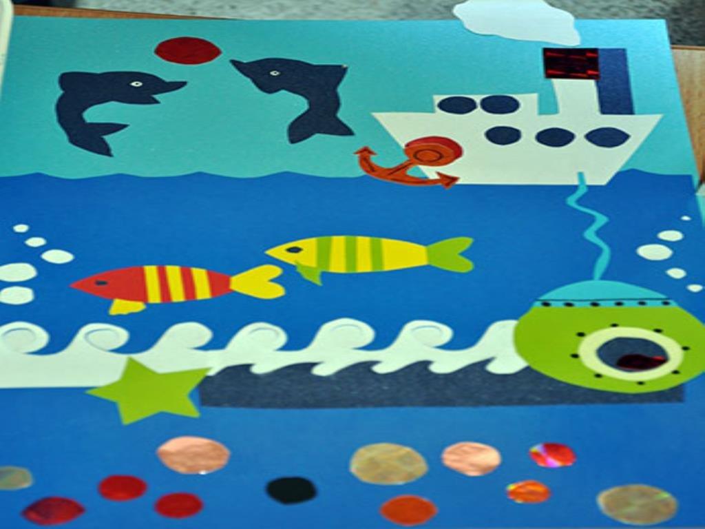 Поделка на морскую тему для детей 480