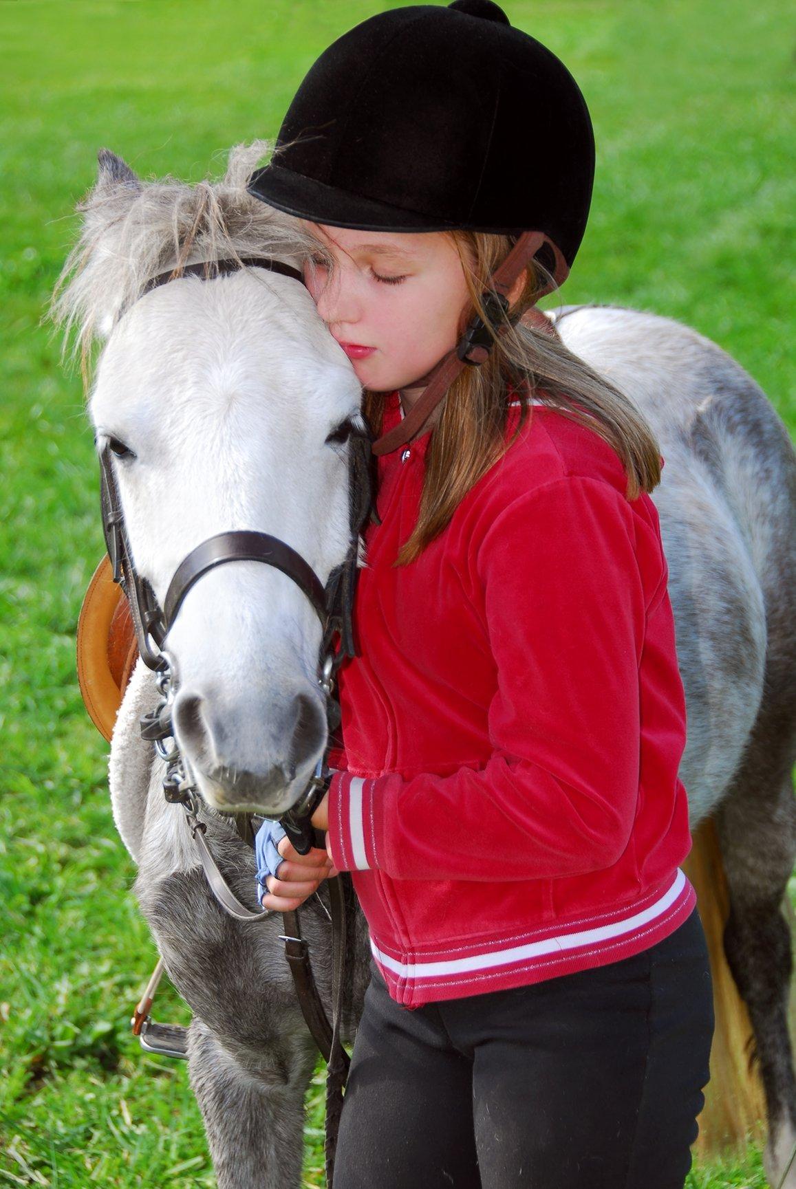 Фото с лошадьми и с детьми девочки