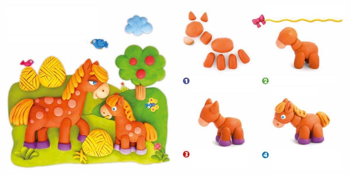 Детские поделки из пластилина своими руками