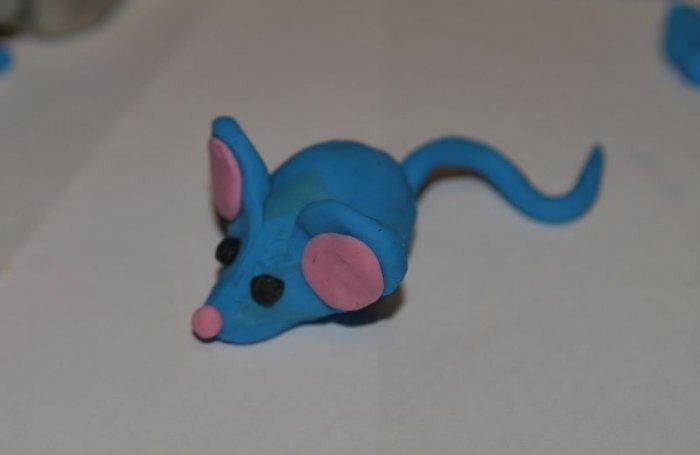 Как сделать с пластилина мышку