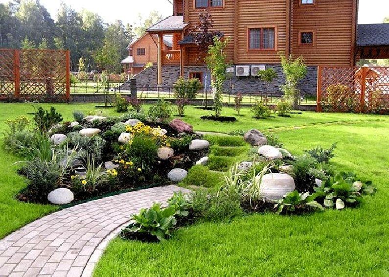 Ландшафтный дизайн участка примеры