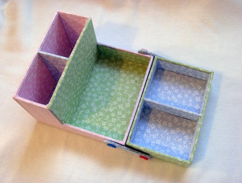 Коробка для карандашей своими руками из коробки 795