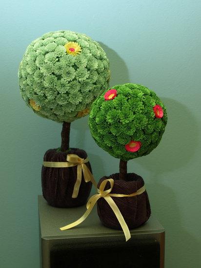 Цветок счастья сделан своими руками 690