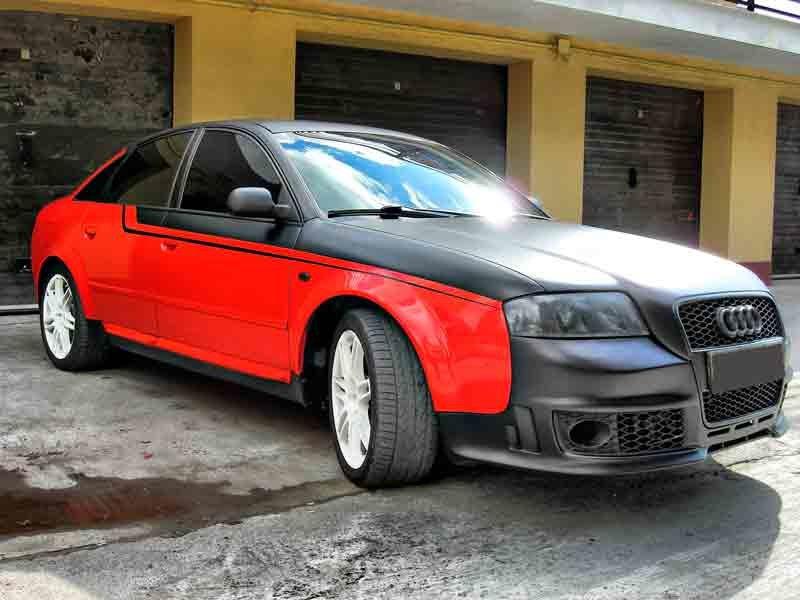 Audi a6 c5 тюнинг своими руками 1