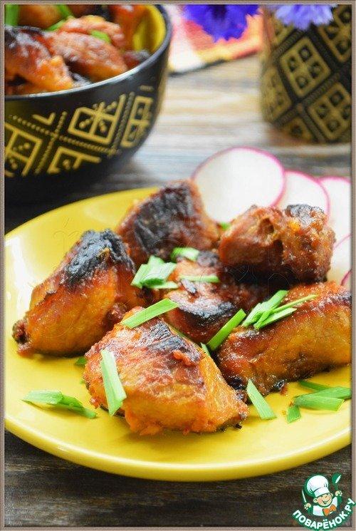 Рецепты из мяса для праздника фото