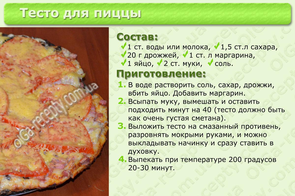 Пицца из жидкого теста рецепт пошагово