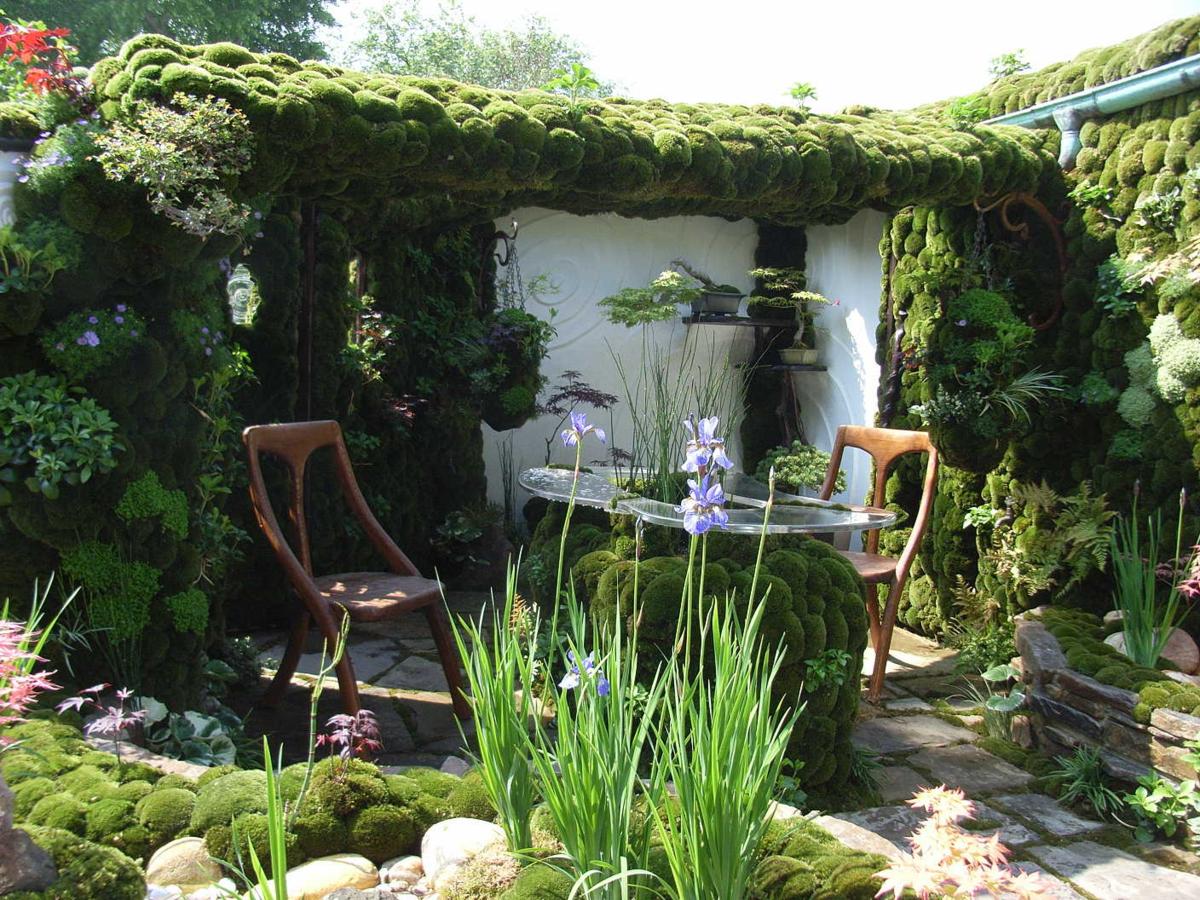 Уютные уголки в саду своими руками фото 46
