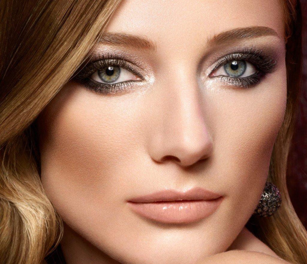 Зеленые глаза цвет волос и макияж и