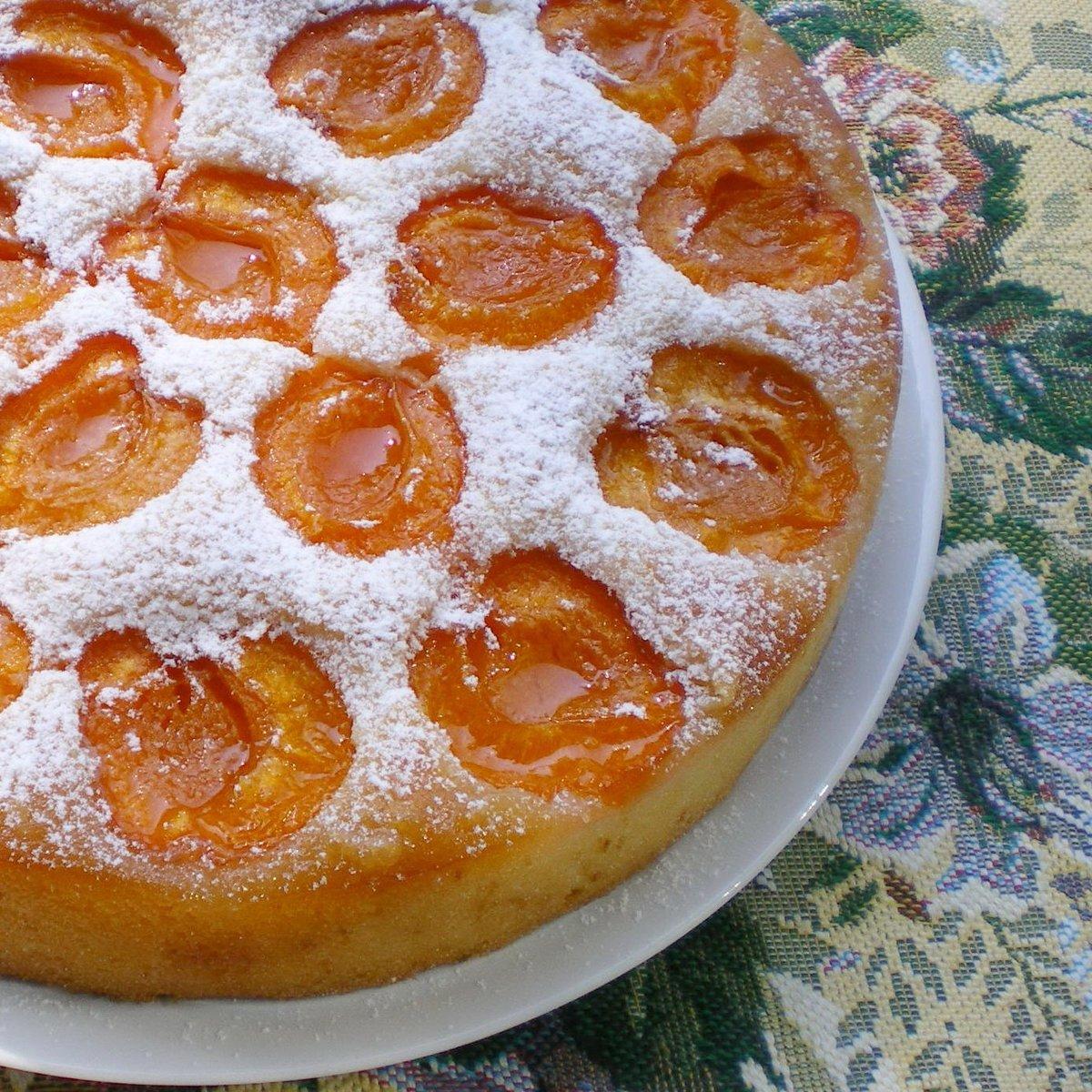 Рецепты абрикосового пирога