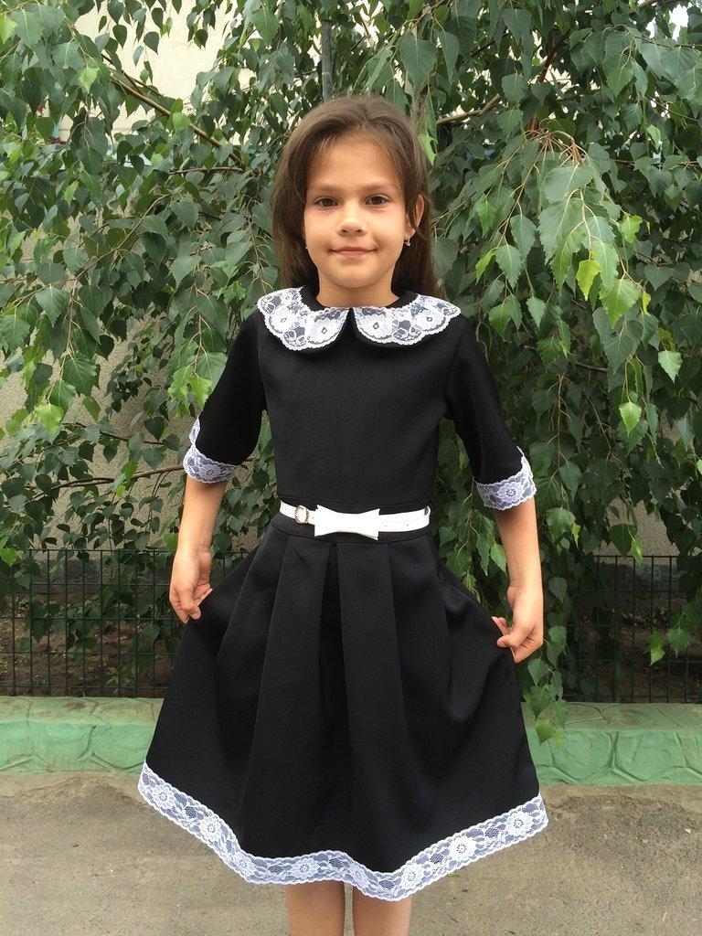 Формы платья для девочек