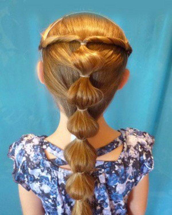 Прически принцесс короткие волосы