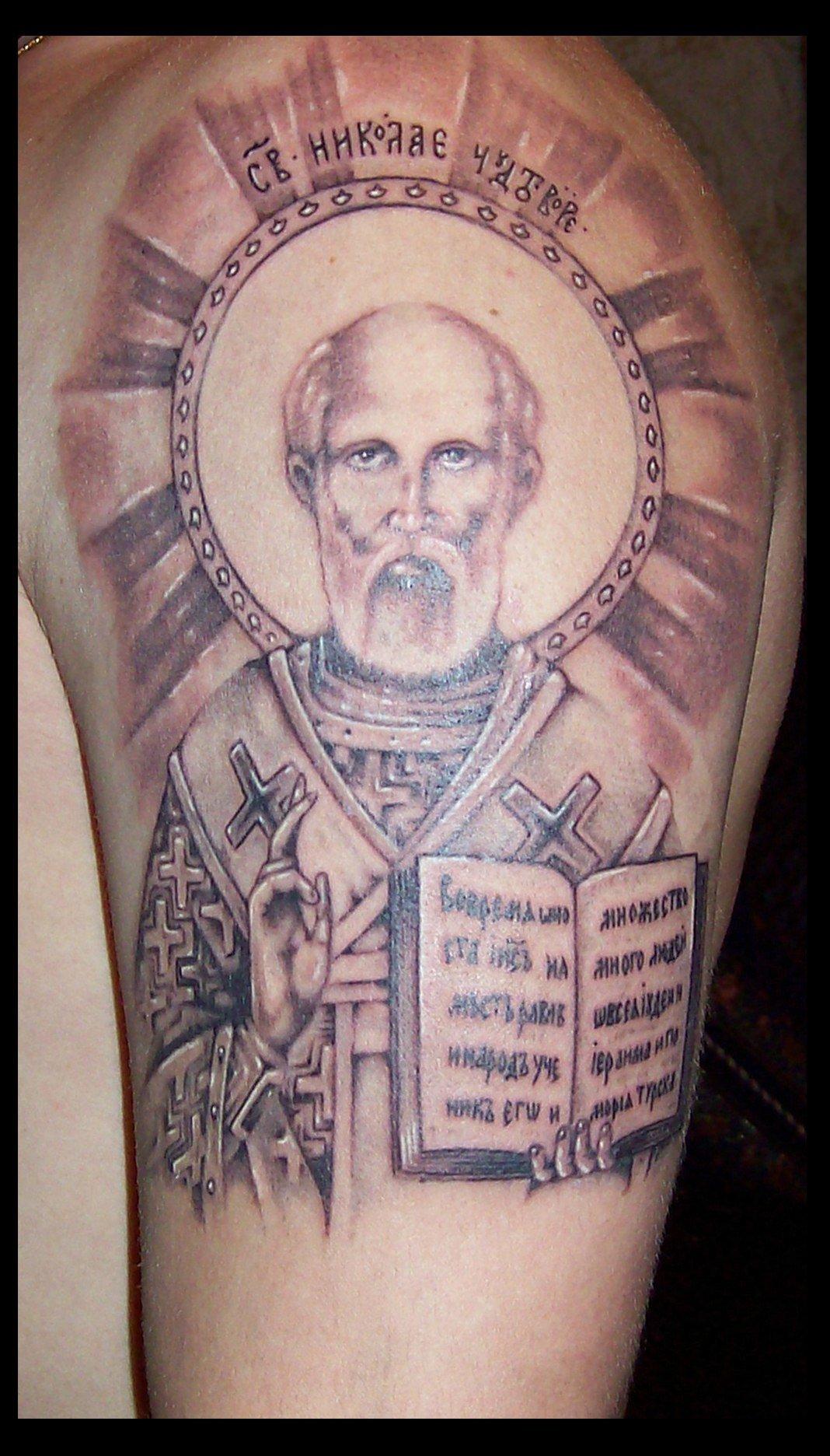 Тату православной тематики