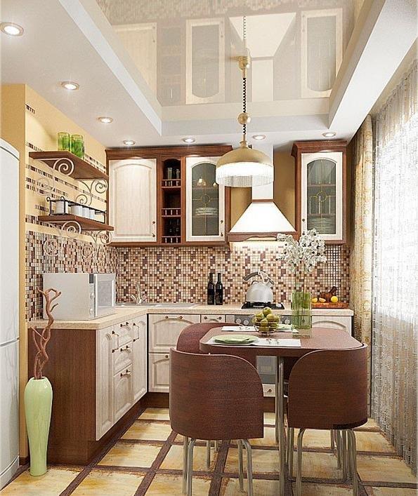 Кухни в хрущевке интерьеры фото