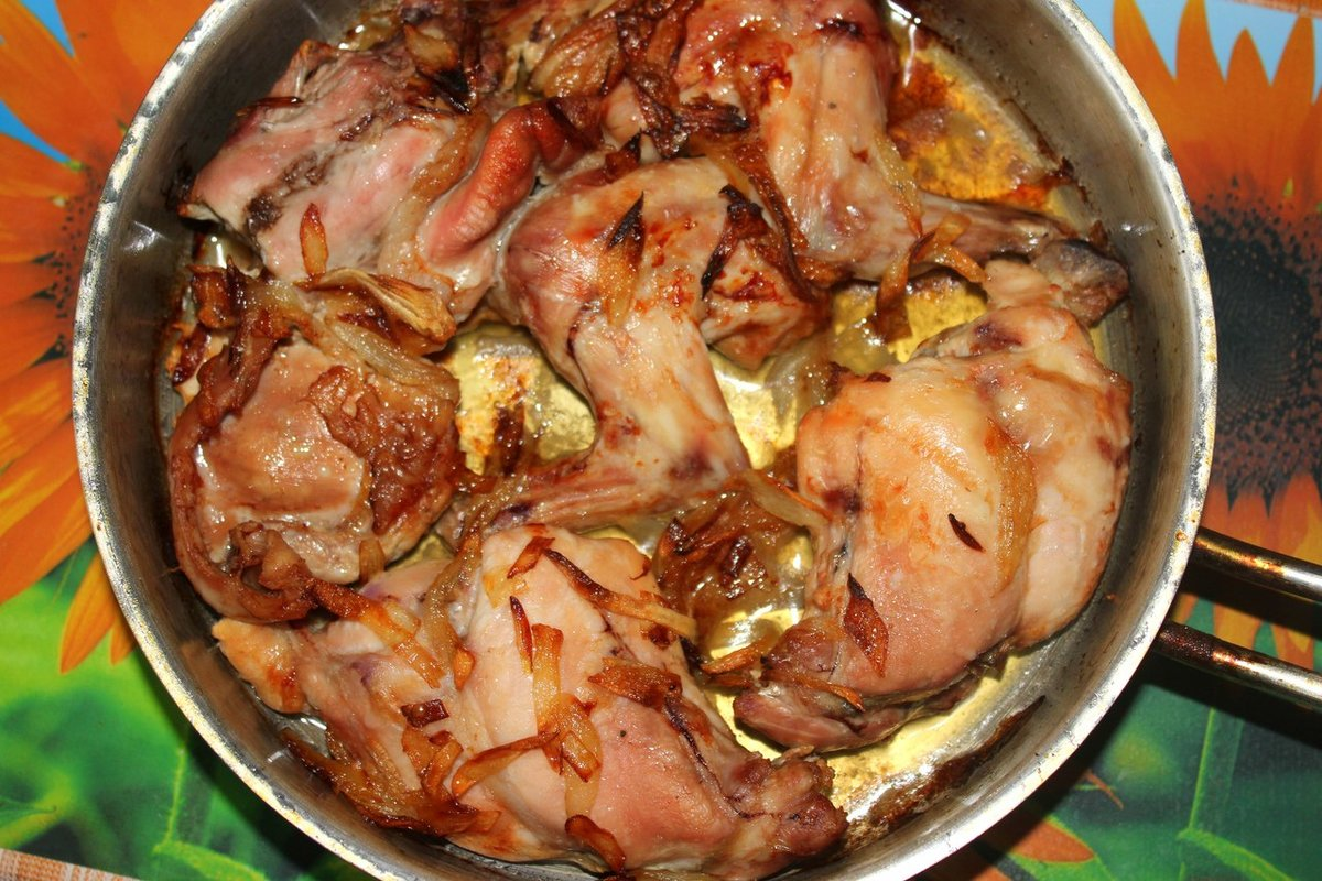 Кролик в духовке рецепт пошагово