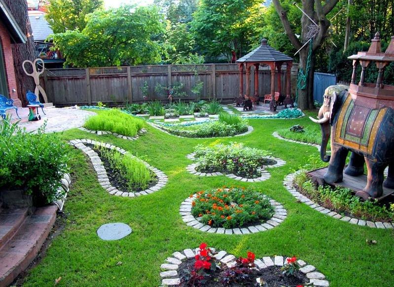 Ландшафтный дизайн у себя дома своими руками