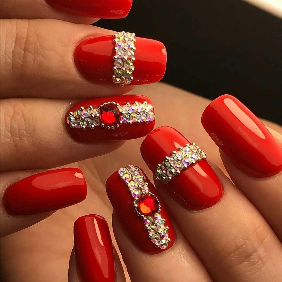 Дизайн Ногтей Серый С Розовым