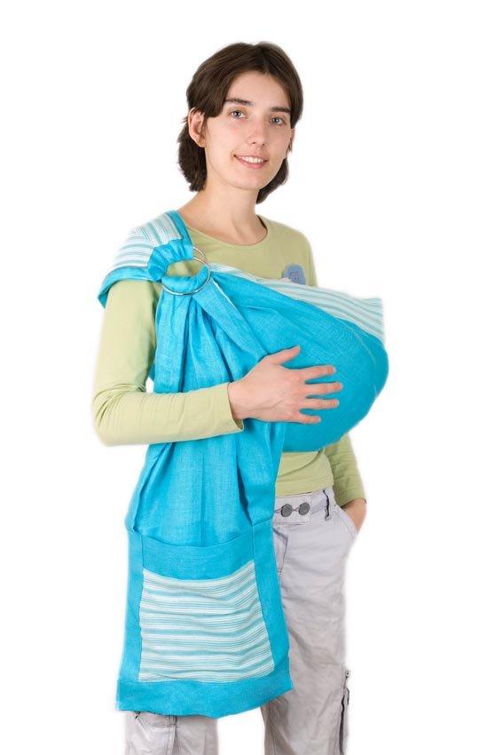 Сшить слинг с кольцами для новорожденных 50