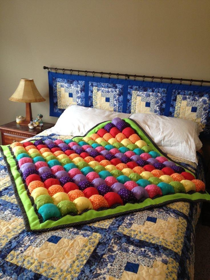 Как сшить объемное одеяло мастер класс 22