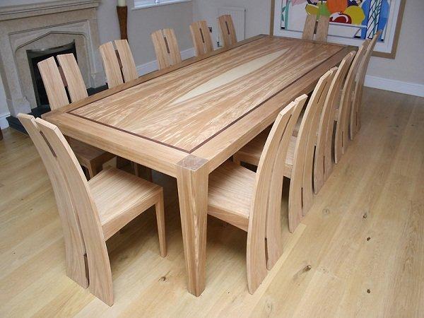 Большой стол своими руками с дерева 714
