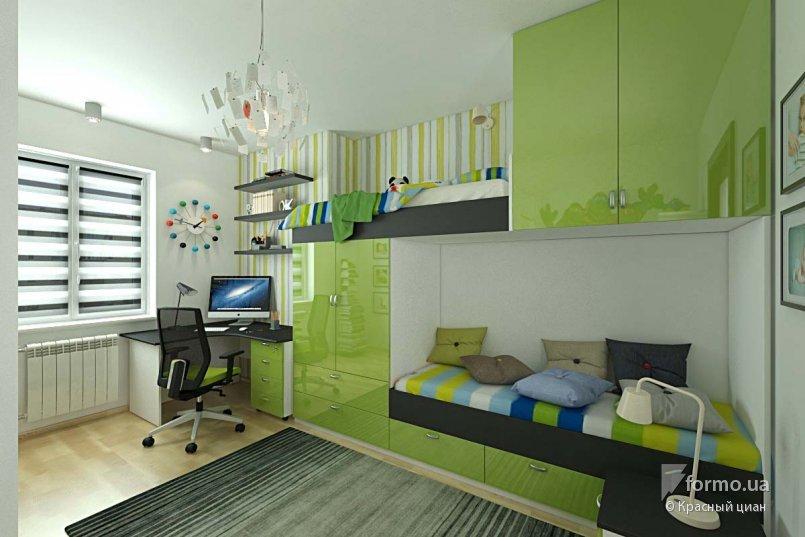 Дизайн детской комнаты для двоих на 12 квм дизайн.