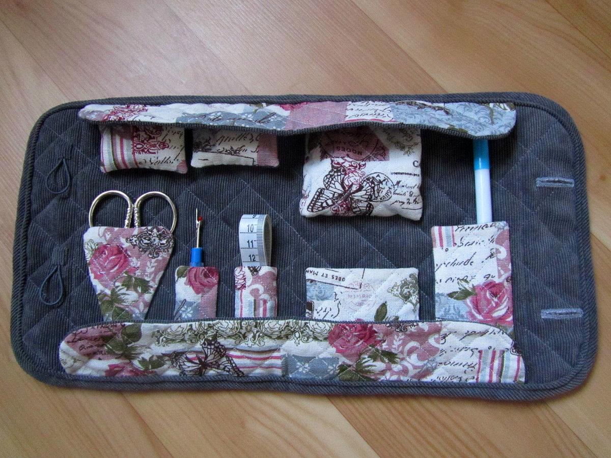 Органайзер для швейных принадлежностей своими руками мастер класс