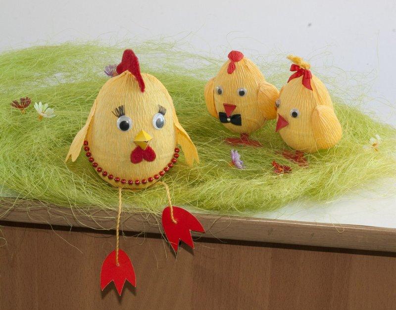 Цыплята из яиц своими руками