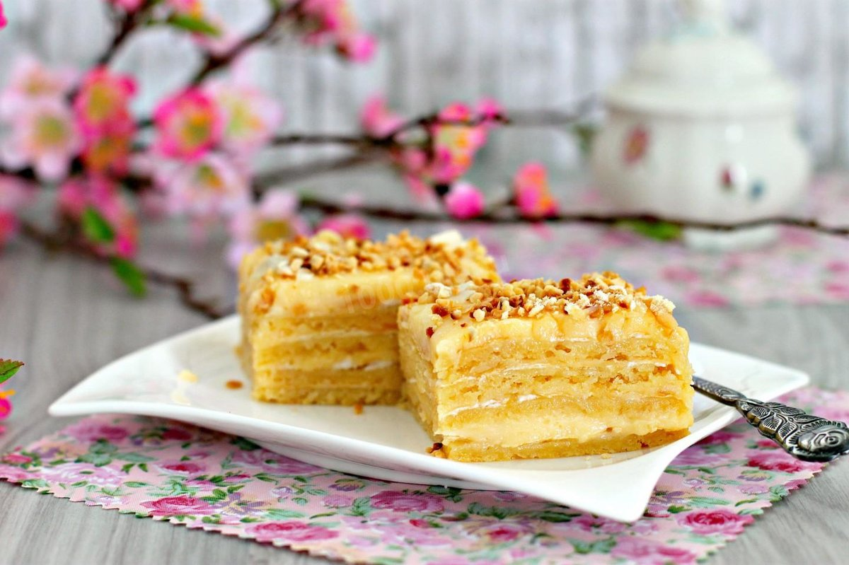 Песочный торт рецепт пошагово в домашних условиях