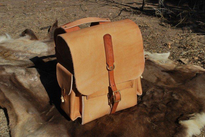 Как сделать кожаный рюкзак своими руками 38