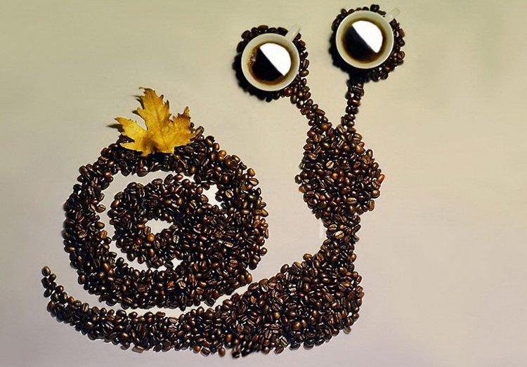 Из зерен кофе своими руками фото