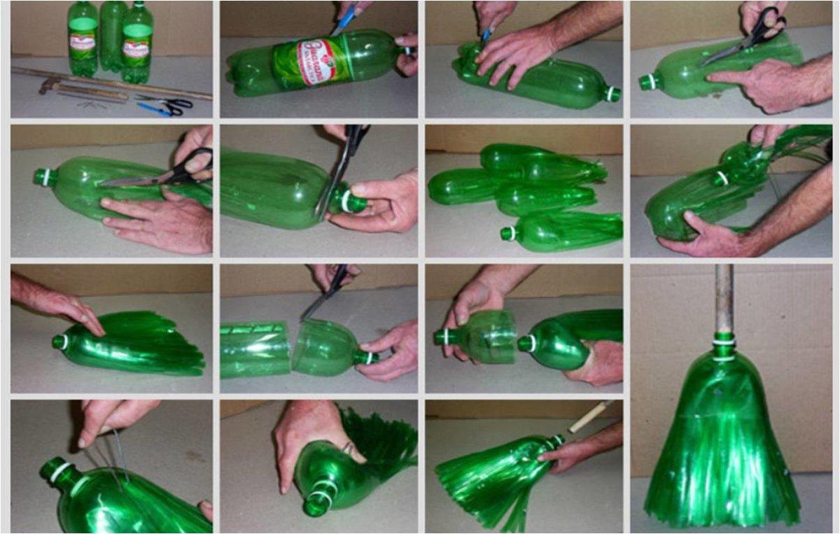 Из бутылок своими руками поэтапно 285