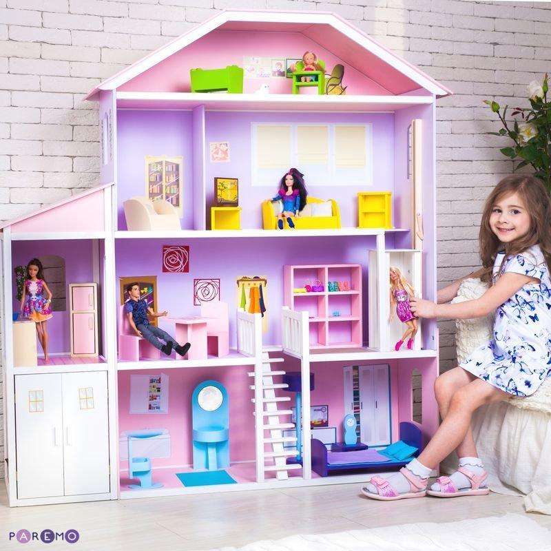 Барби куклы и их домики своими руками 13