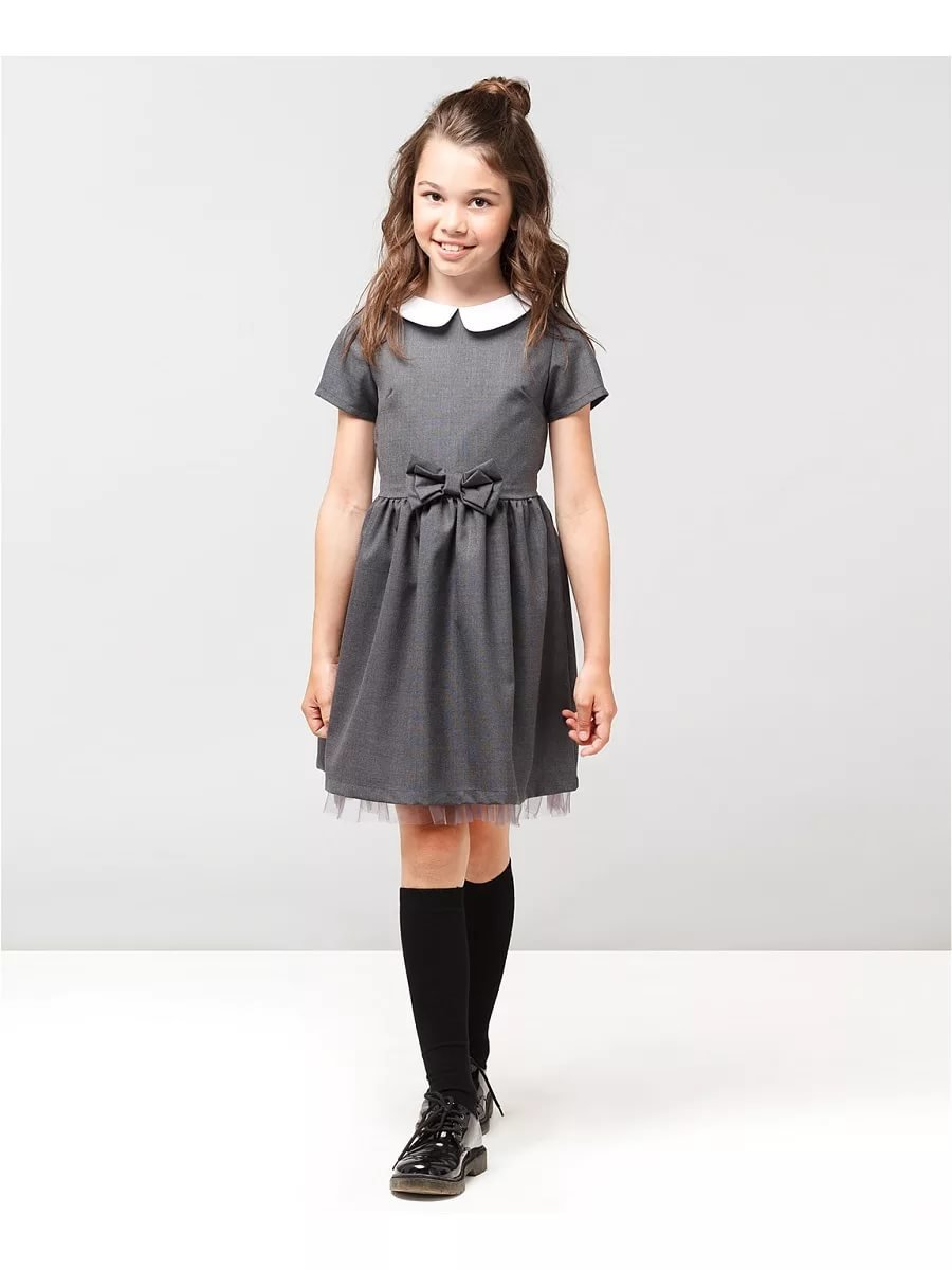 Фото школьного платья на девочку 1 класса