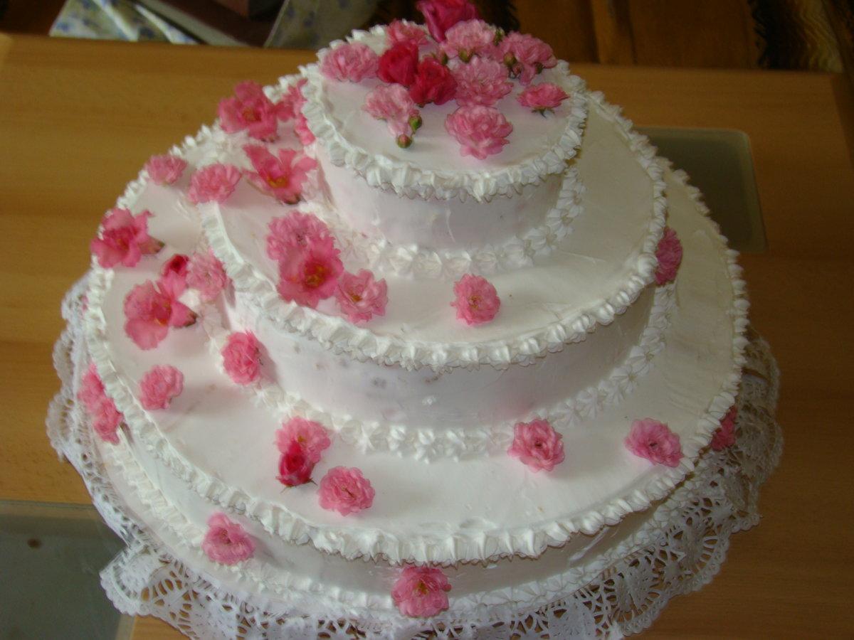 Рецепт свадебного торта своими руками пошаговое