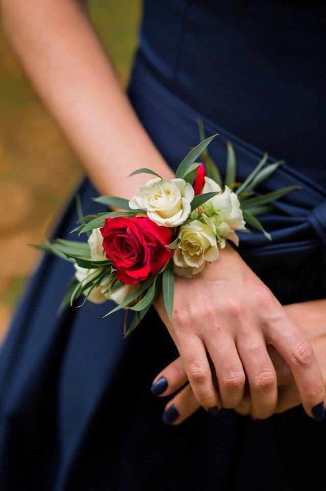 Фото браслеты из живых цветов