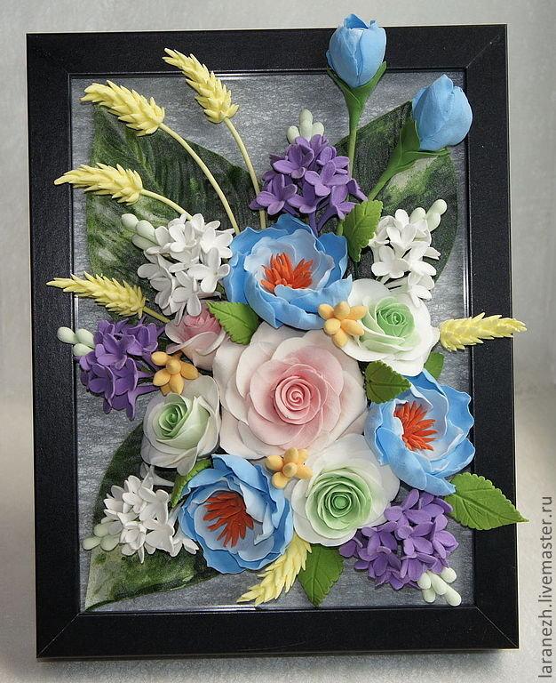 Картины из полимерной глины мастер-класс