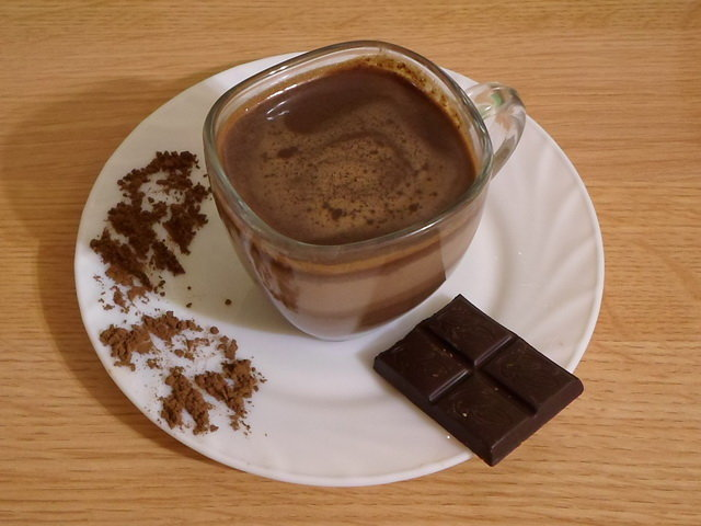 Горячий шоколад своими руками из какао