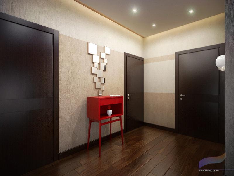 Двери венге в интерьере с ламинатом фото