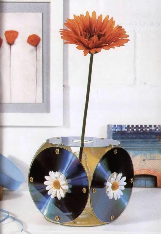 Как сделать диск для цветков 101