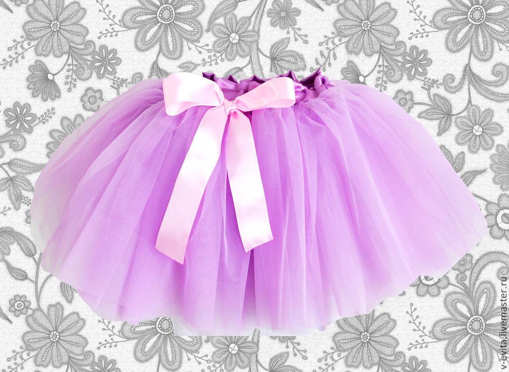 Многослойная юбка для девочки своими руками 66