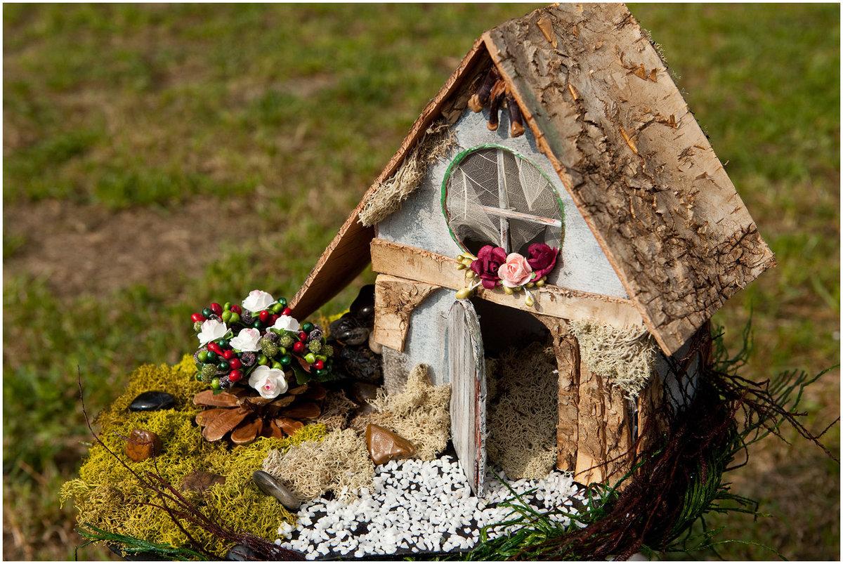 Поделки с домиками из природного материала своими руками фото