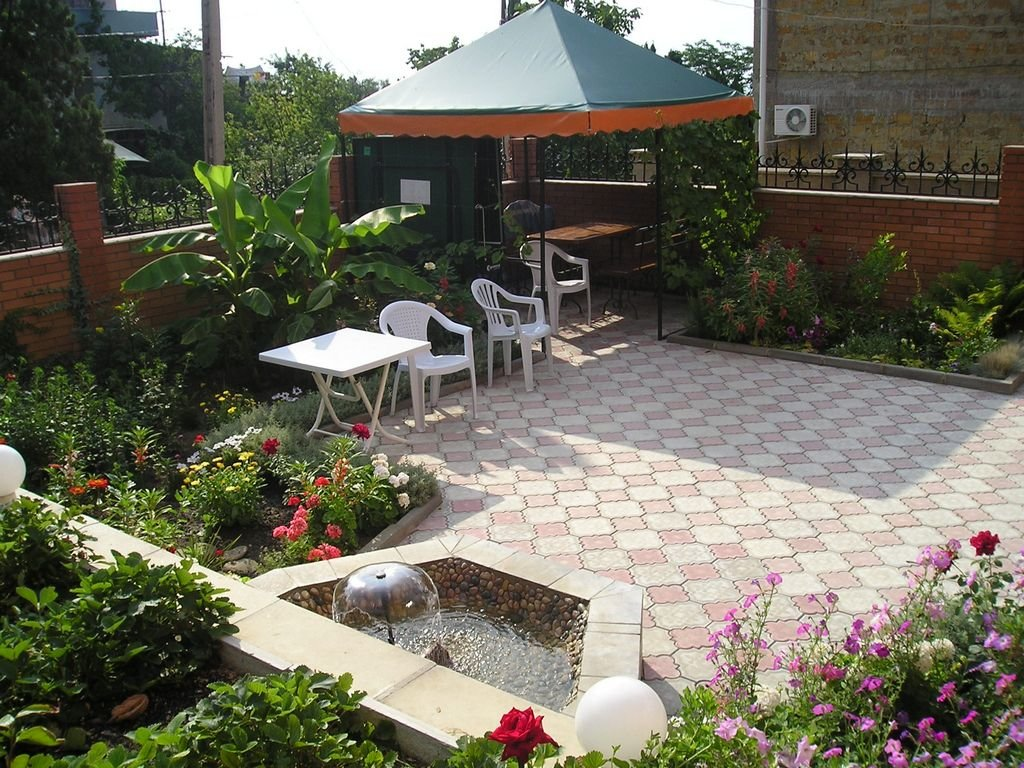 Идеи красивого двора частного дома своими руками фото 8