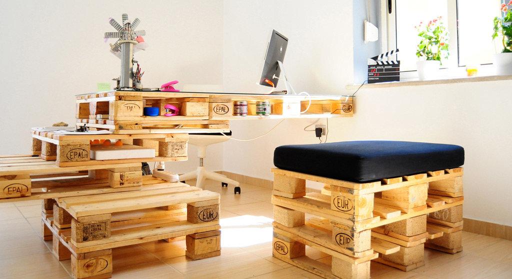 Оригинальные идеи создания мебели своими руками: 75 фото идей
