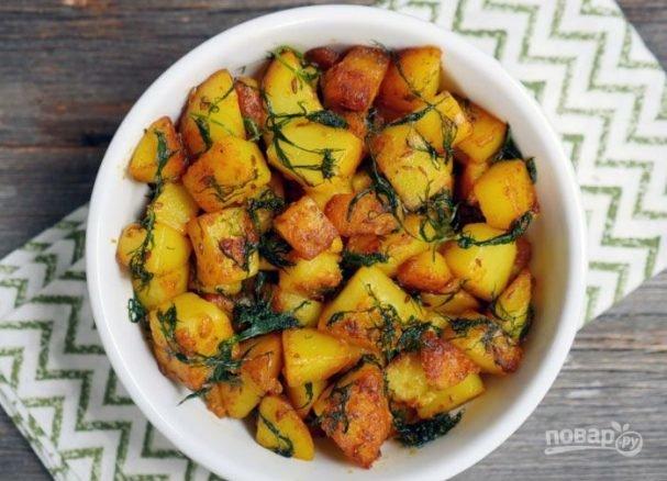 Как сделать картошку жареную хрустящей