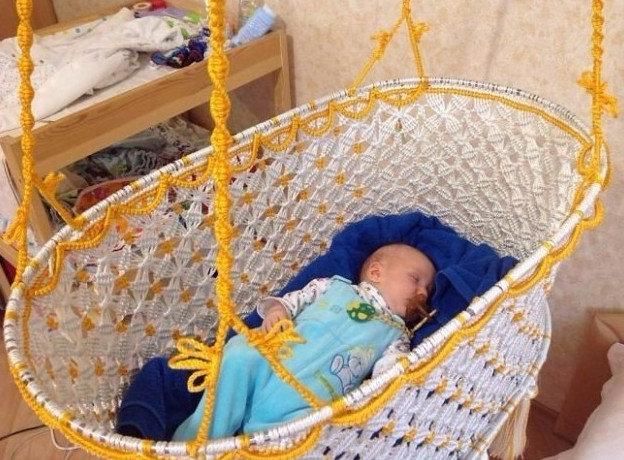 Колыбель для новорожденных своими руками