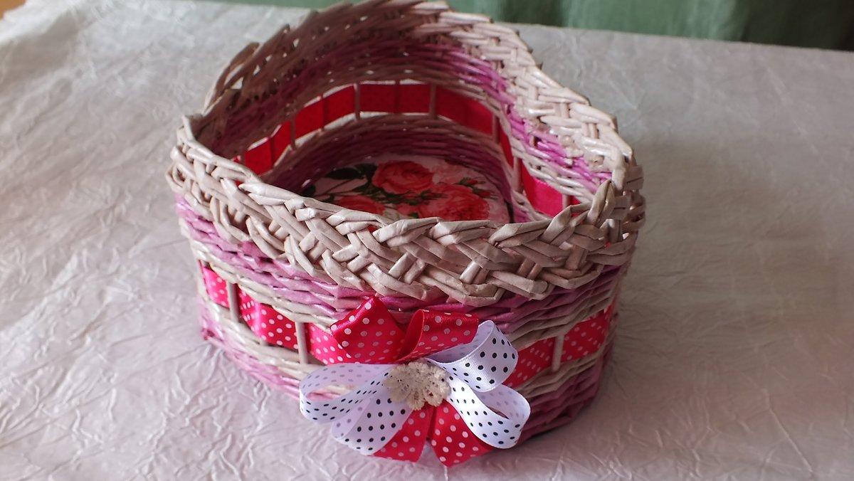 Плетение из газетных трубочек своими руками для начинающих